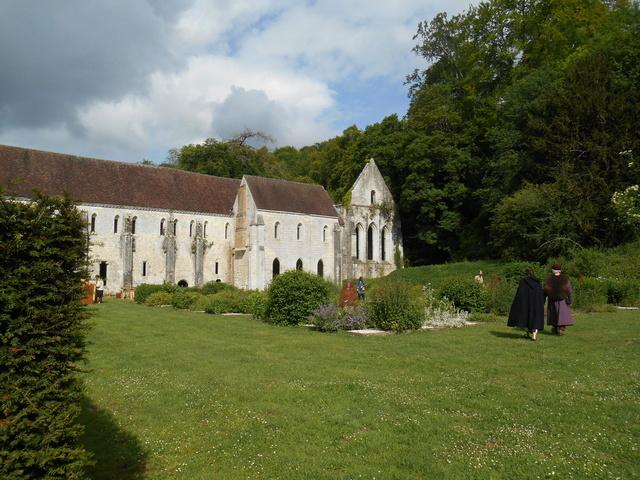 Week end à l'Abbaye de la Fontaine Guérard Dscn5119