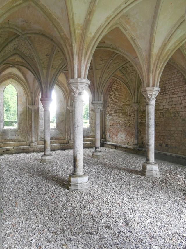 Week end à l'Abbaye de la Fontaine Guérard Dscn5136