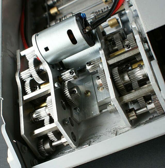 Rodaggio gearbox Taigen per StugIII e sgranatura 3u1i010