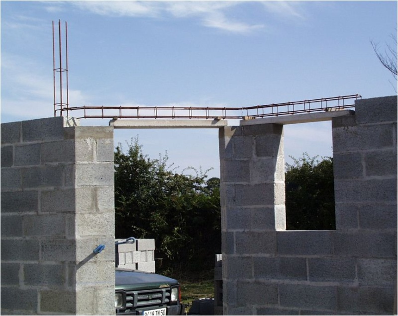AUTO-CONSTRUCTION :  LA MAISON D'EN FACE - Page 4 Const153