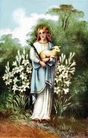 Sainte Agnès de Rome - Martyre de la pureté (290 - 303 ) Tylych10
