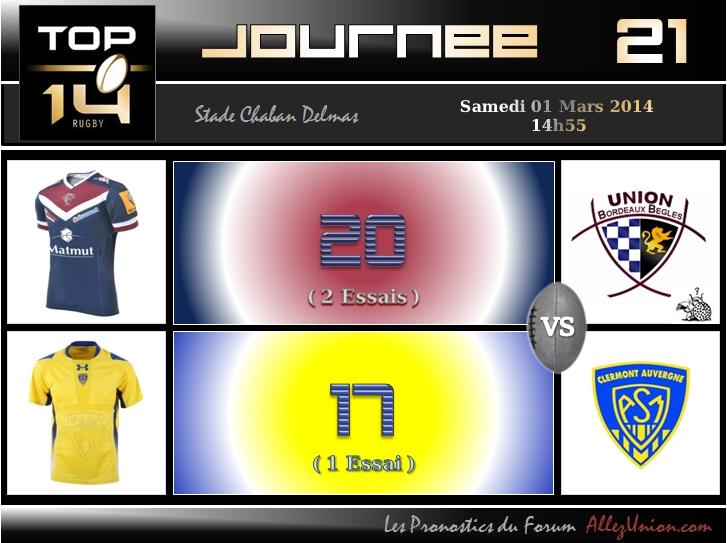 PRONOS 2013/2014 . UBB - ASM J2111