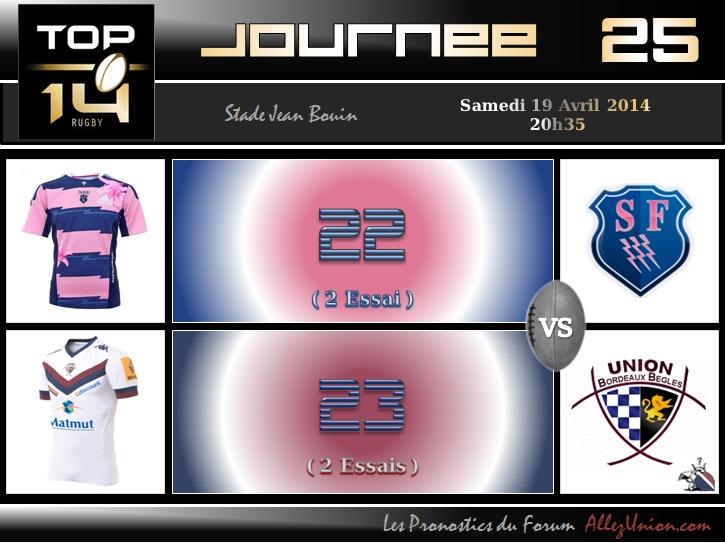 PRONOS 2013/2014 . SF - UBB J2510
