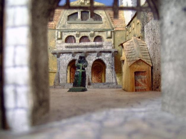 Burg für Warhammer Fantasy 06tor110