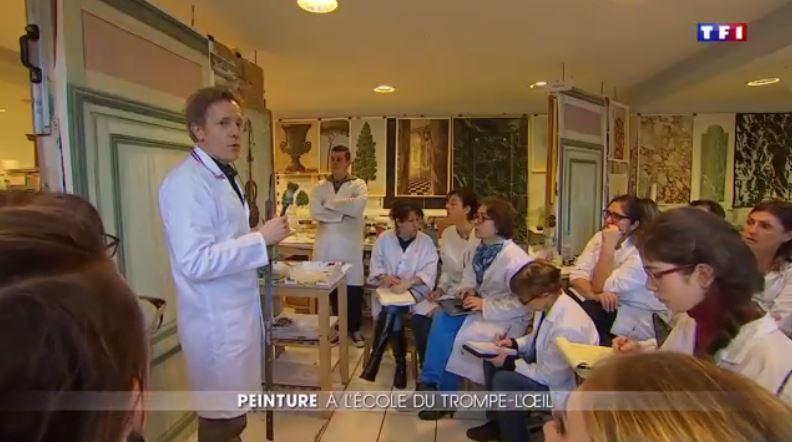 L'art du trompe-l'oeil à Versailles  Trompe10