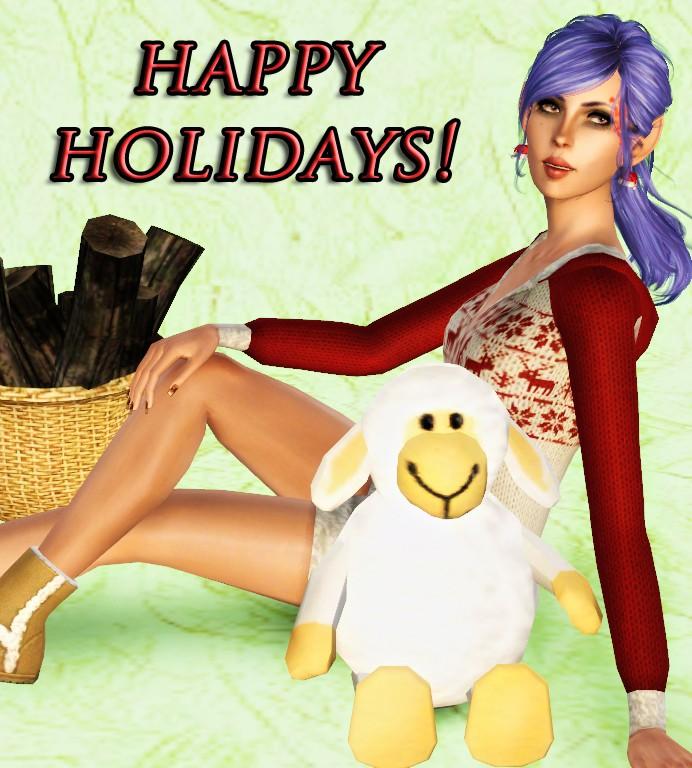 Effie the Elf! Sim and poster set Effie10