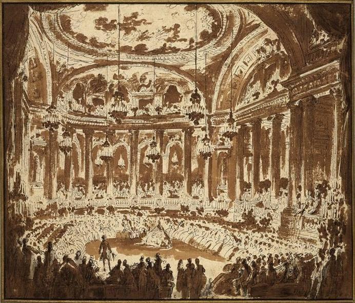 19 mai 1770: La continuité des festivités à Versailles 16114111