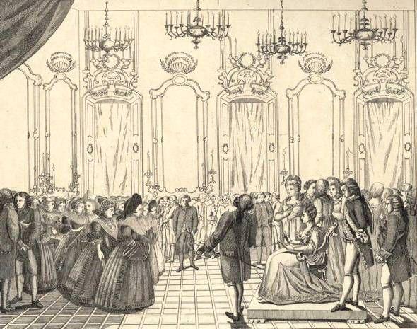 07 mai 1770: Marie-Antoinette est arrivée à Strasbourg Thyodo11