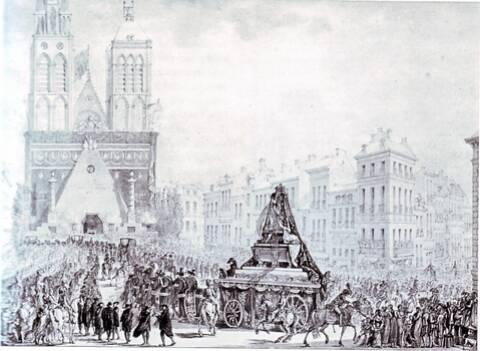 21 janvier 1815: Translation des cendres de Louis XVI et de Marie Antoinette