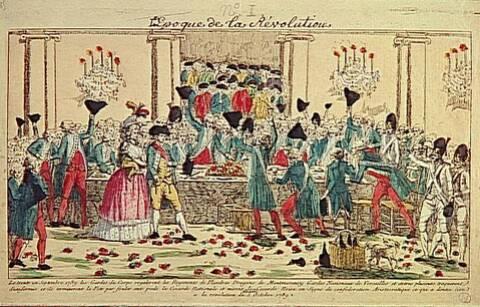1er octobre 1789: Le banquet des gardes du corps