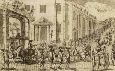 07 mai 1770: Marie-Antoinette est arrivée à Strasbourg