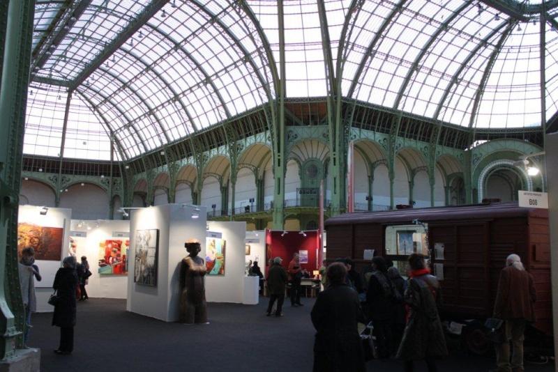 Art en capital au Grand Palais Img_1414