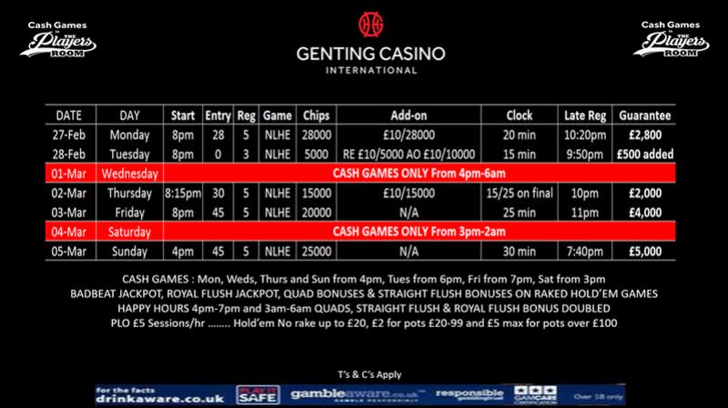 Resortsworld Schedule This Week Gic10