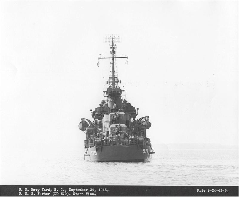 WILLIAM D. PORTER DD579 Fletcher Class Destroyer - Tamiya 1/350 05579110