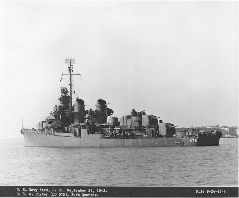 WILLIAM D. PORTER DD579 Fletcher Class Destroyer - Tamiya 1/350 05579111