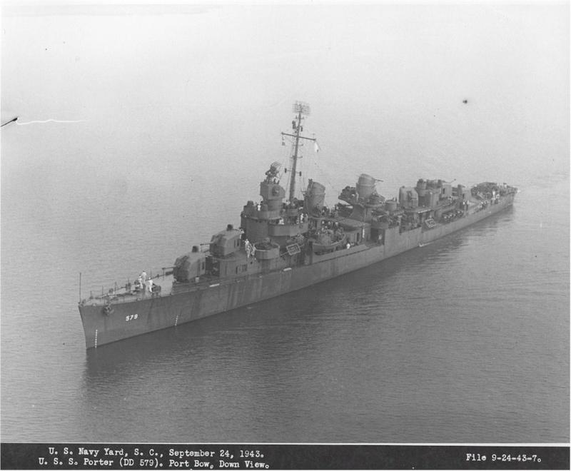 WILLIAM D. PORTER DD579 Fletcher Class Destroyer - Tamiya 1/350 05579112