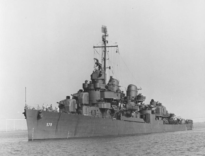 WILLIAM D. PORTER DD579 Fletcher Class Destroyer - Tamiya 1/350 13884310