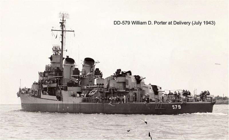 WILLIAM D. PORTER DD579 Fletcher Class Destroyer - Tamiya 1/350 2_13_010