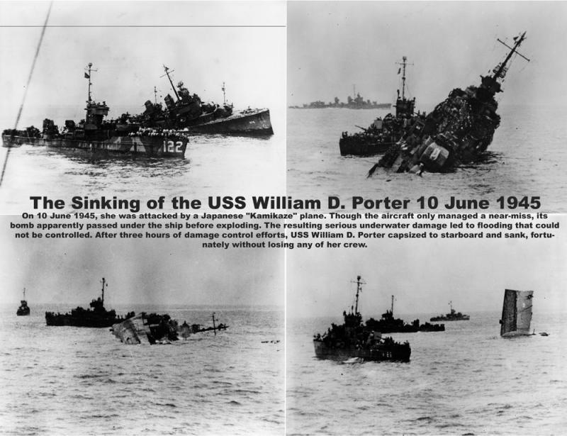 WILLIAM D. PORTER DD579 Fletcher Class Destroyer - Tamiya 1/350 52664610
