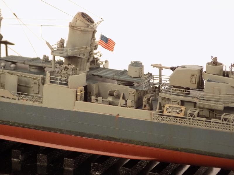 WILLIAM D. PORTER DD579 Fletcher Class Destroyer - Tamiya 1/350 Dscn0380