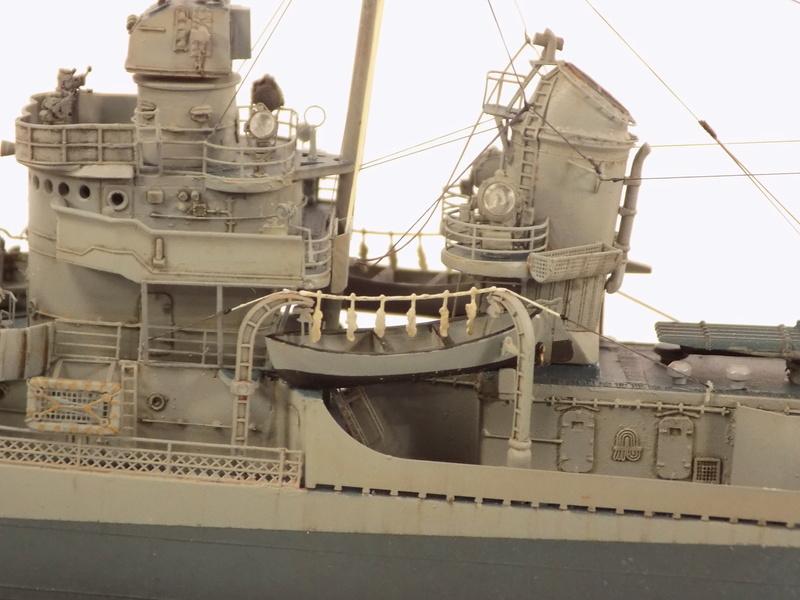 WILLIAM D. PORTER DD579 Fletcher Class Destroyer - Tamiya 1/350 Dscn0382