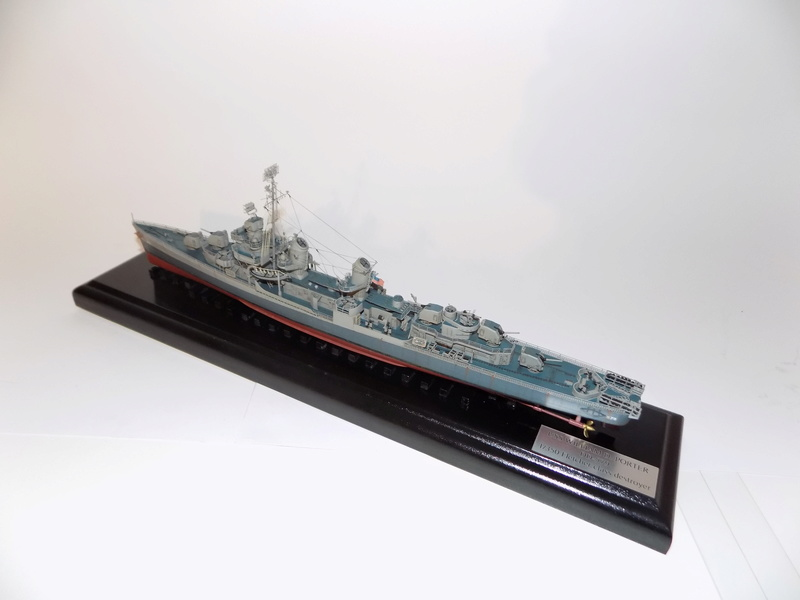 WILLIAM D. PORTER DD579 Fletcher Class Destroyer - Tamiya 1/350 Dscn0411