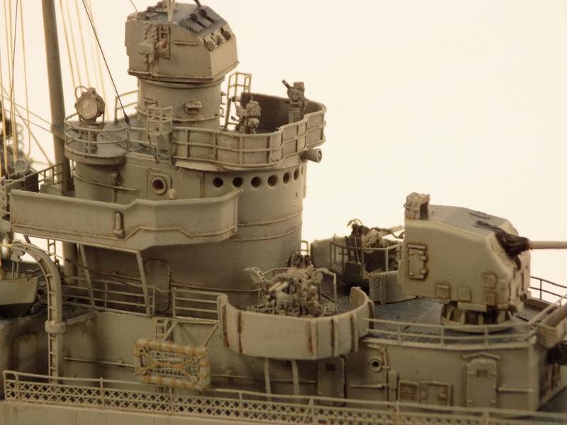 WILLIAM D. PORTER DD579 Fletcher Class Destroyer - Tamiya 1/350 Dscn0423