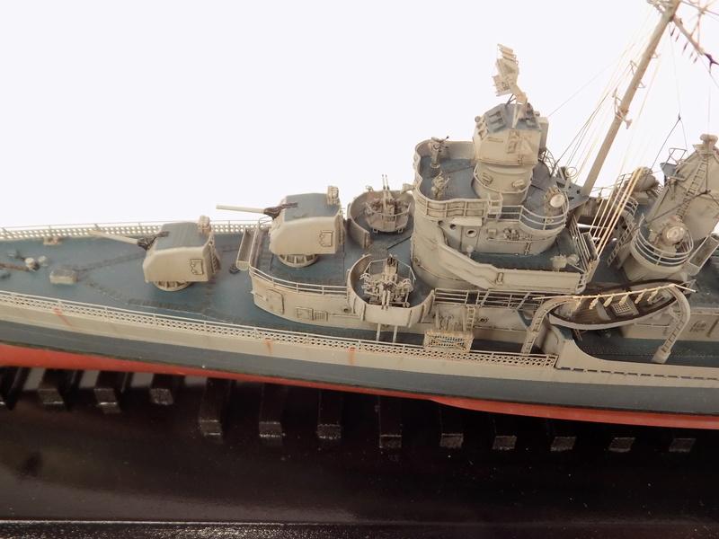 WILLIAM D. PORTER DD579 Fletcher Class Destroyer - Tamiya 1/350 Dscn0424