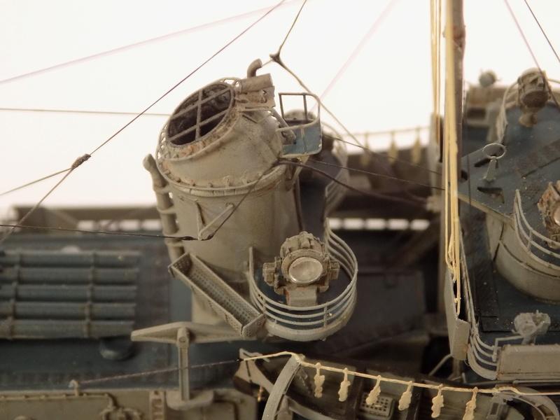 WILLIAM D. PORTER DD579 Fletcher Class Destroyer - Tamiya 1/350 Dscn0427