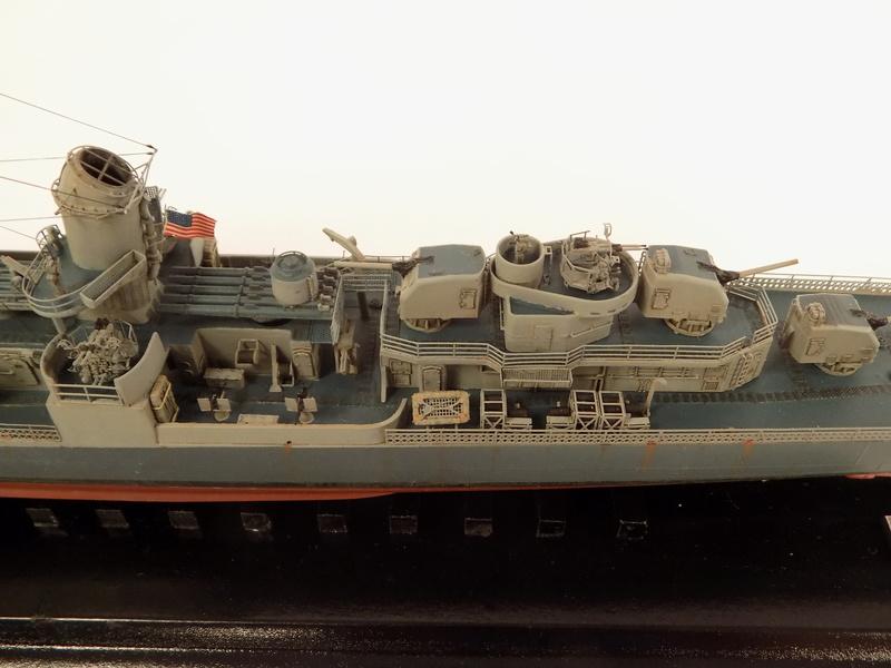 WILLIAM D. PORTER DD579 Fletcher Class Destroyer - Tamiya 1/350 Dscn0428