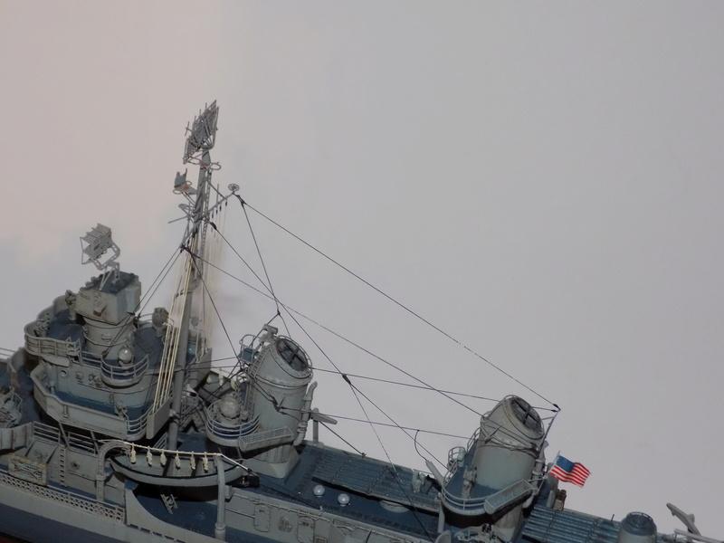 WILLIAM D. PORTER DD579 Fletcher Class Destroyer - Tamiya 1/350 Dscn0432