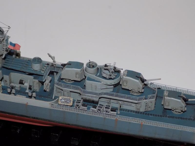 WILLIAM D. PORTER DD579 Fletcher Class Destroyer - Tamiya 1/350 Dscn0434