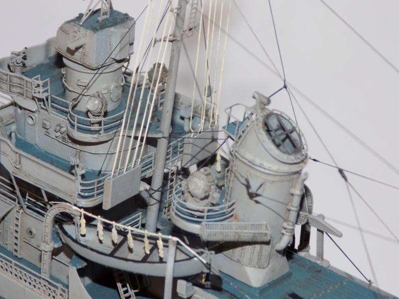 WILLIAM D. PORTER DD579 Fletcher Class Destroyer - Tamiya 1/350 Dscn0435