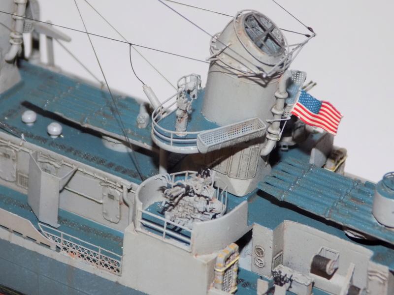 WILLIAM D. PORTER DD579 Fletcher Class Destroyer - Tamiya 1/350 Dscn0438
