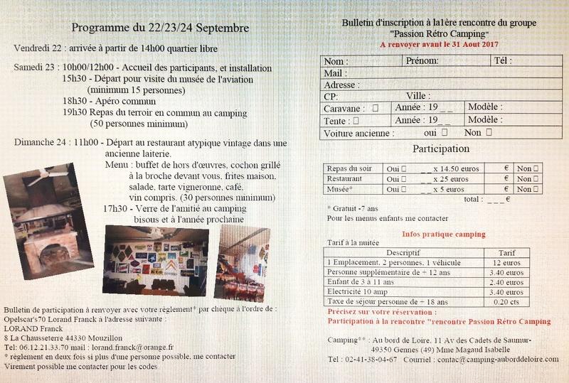 """rencontre """"Passion Rétro Camping"""" les 22,23,24 Septembre 2017 20170611"""