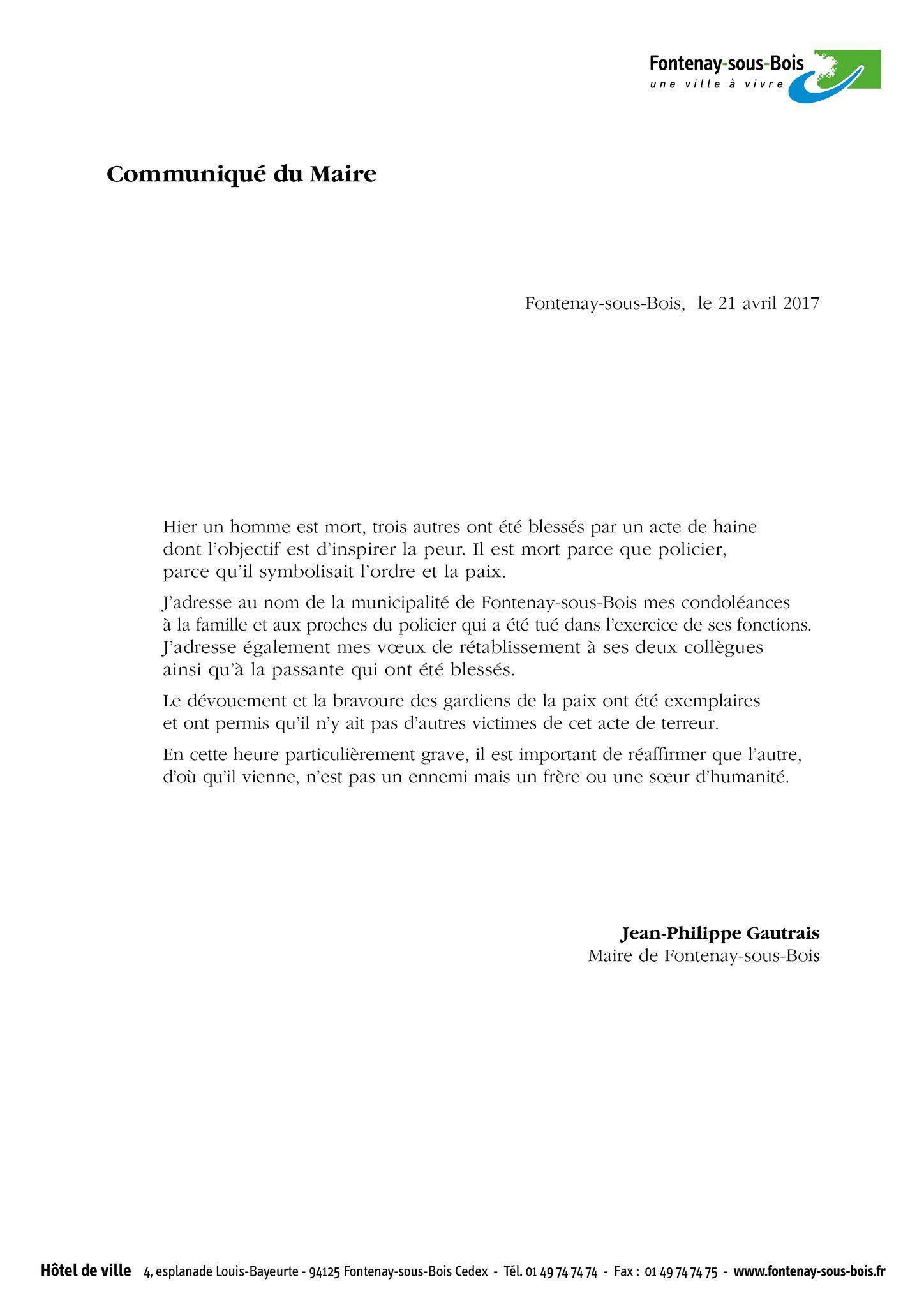 Liberté, Egalité, Fraternité - Le 13 novembre 2015 et son après - Résister face au terrorisme - Page 11 C98nyf10