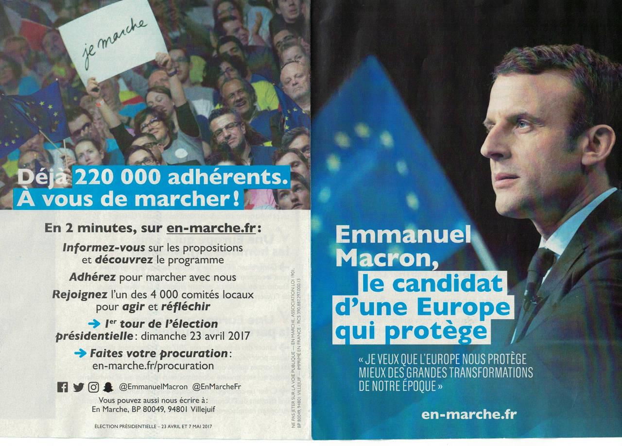 En marche !  avec Emmanuel Macron - Page 6 Macron16