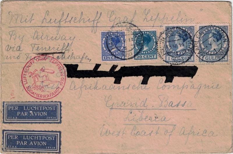 Südamerikafahrt 1930, Post nach Praia (Kapverdische Inseln) - Seite 2 Hollan11