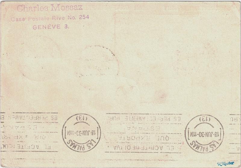 Südamerikafahrt 1930, Post nach Praia (Kapverdische Inseln) - Seite 2 Saar_p10