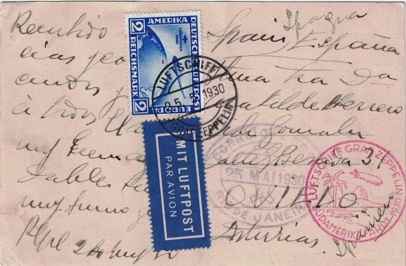 nach - Südamerikafahrt 1930, Post nach Rio de Janeiro - Seite 3 Saf_sp11