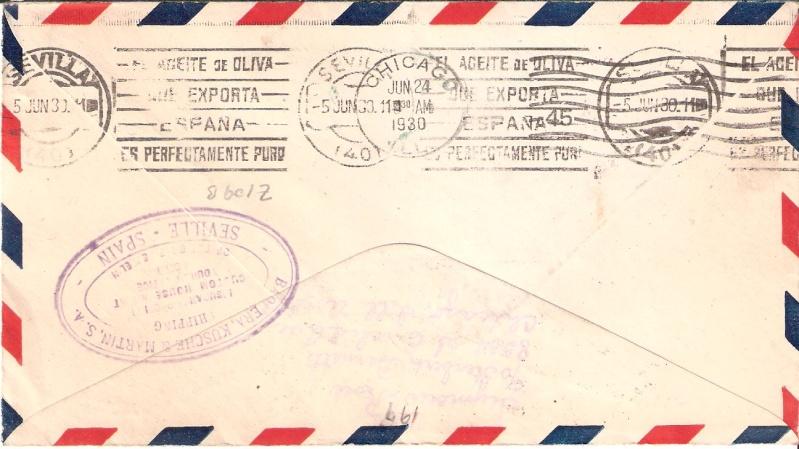 nach - Südamerikafahrt 1930, Post nach Sevilla - Seite 2 Scanne11