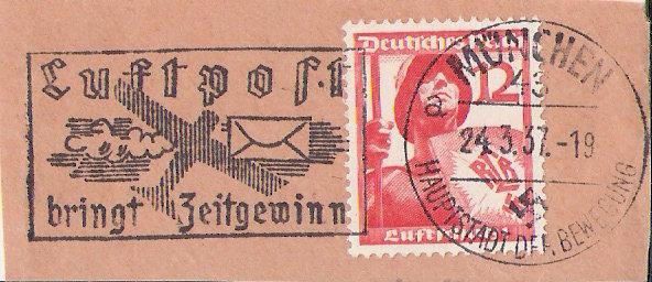 Maschinenwerbestempel - Deutsches Reich Scanne27