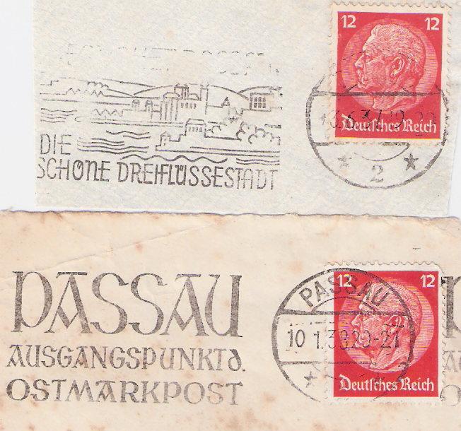 Maschinenwerbestempel - Deutsches Reich Scanne29