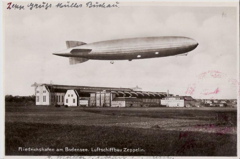 nach - Südamerikafahrt 1930, Post nach Rio de Janeiro Scanne39