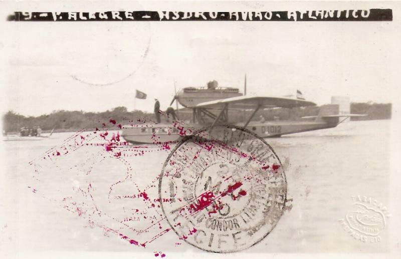"""Südamerikafahrt 1930 (Rundfahrt-) Post nach Friedrichshafen"""" - Seite 4 Scanne43"""