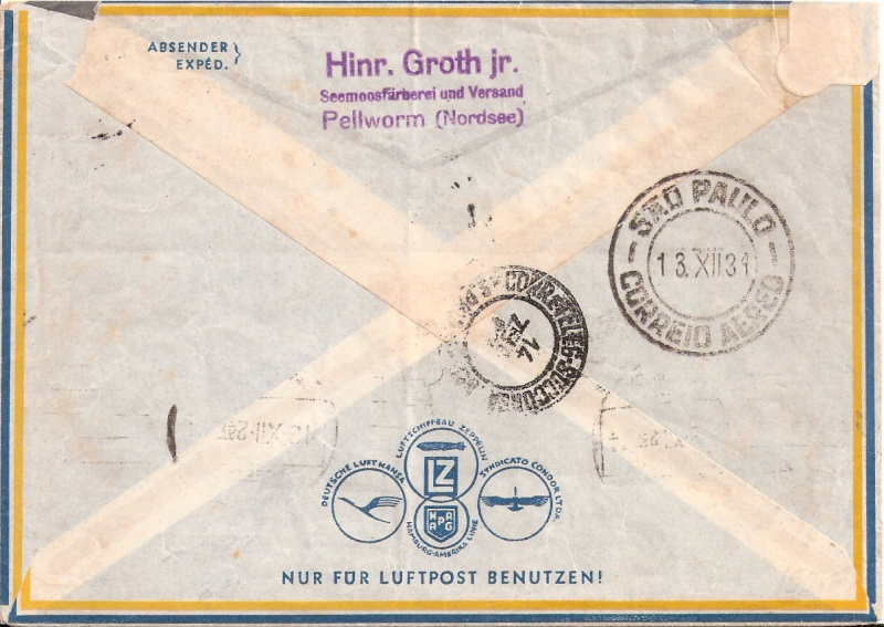 """Südamerikapost per Zeppelin"" Scanne53"