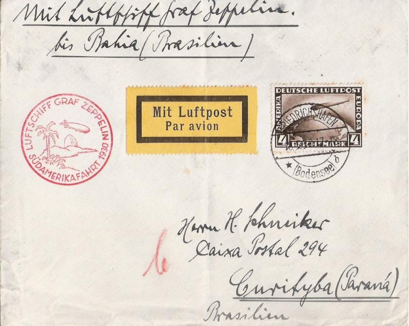 Südamerikafahrt 1930, Post nach (Salvador de) Bahia Scanne66