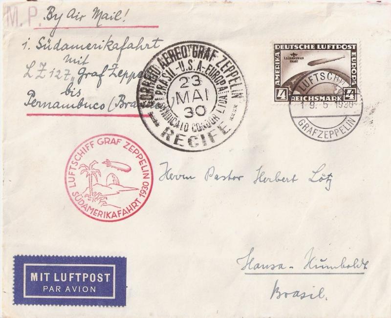 nach - Südamerikafahrt 1930, Post nach Pernambuco - Seite 3 Scanne79