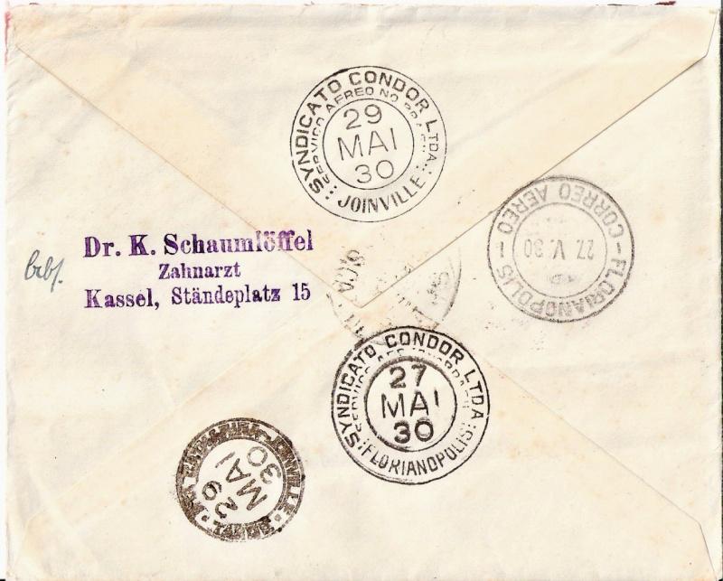 nach - Südamerikafahrt 1930, Post nach Pernambuco - Seite 3 Scanne80