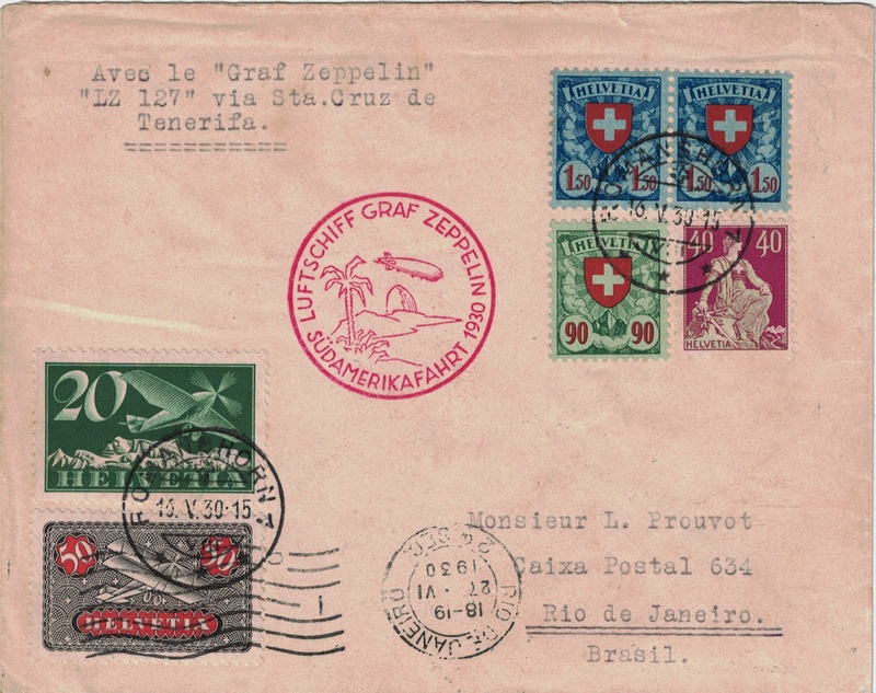 Südamerikafahrt 1930, Post nach Praia (Kapverdische Inseln) - Seite 2 Schwei13